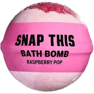 "VS PINK ""Snap This"" Raspberry Bath Bomb! My FAV!"